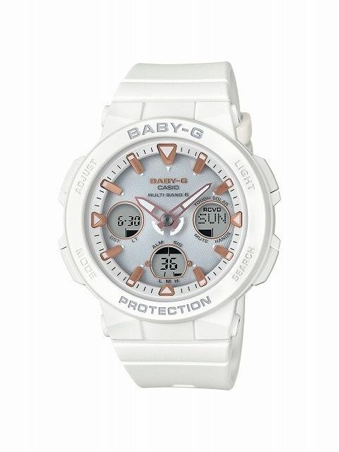 [カシオ]CASIO 腕時計 BABY-G ベビージー ビーチトラベラーシリーズ 電波ソーラー BGA-2500-7AJF レディース [4549526192357-BGA-2500-7AJF]