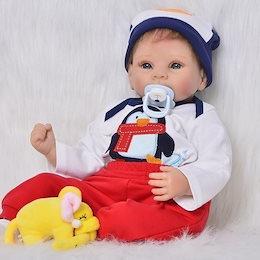 08d1f2cf2a970 リボーンドール リアル赤ちゃん人形 ハンドメイド海外ドール 衣装と哺乳瓶・おしゃぶり付き かわいい