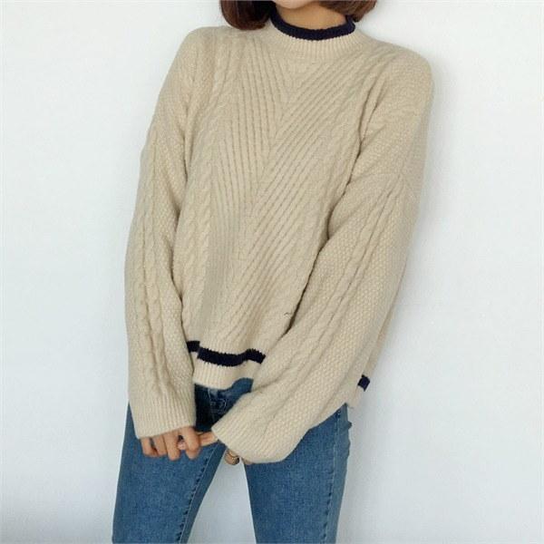 フィッシャーポルラニトゥnew 女性ニット/カーディガン/タートルネックニット/韓国ファッション