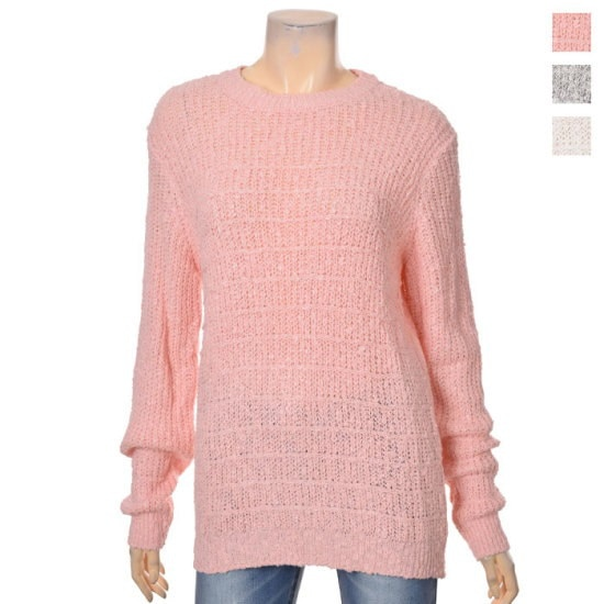エイビープラスエイビープラスPGD01ニットシャツLSQ1GW21A1672485 ニット/セーター/ニット/韓国ファッション