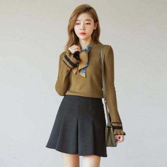 ジャストウォンラッパ小売ポイントニット ニット/セーター/ニット/韓国ファッション