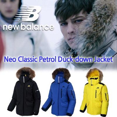 [Newbalance] ニューバランスパトロールのおかげダウンパッド入りのジャケット