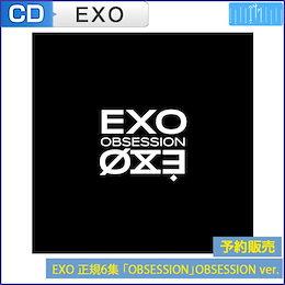 [OBSESSION Ver] 初回限定ポスター EXO 正規6集 [OBSESSION]  韓国音楽チャート反映 1次予約