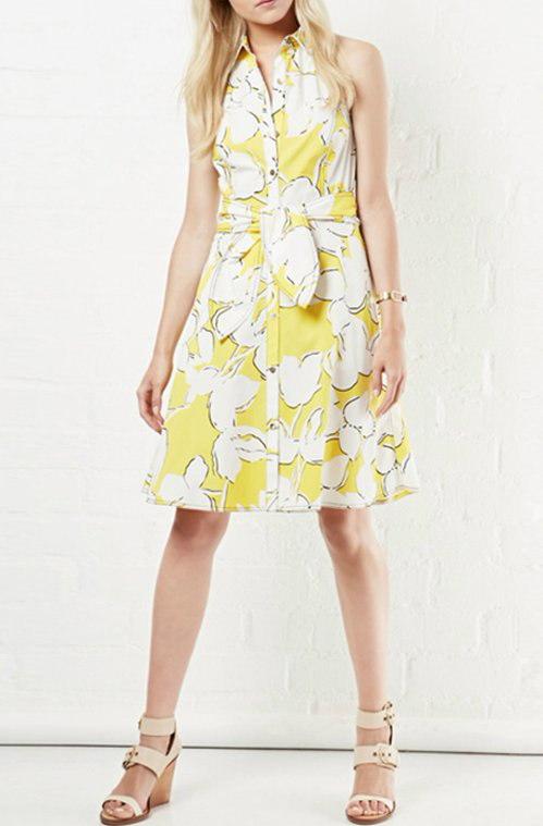 レディー女性ノースリーブ フラワー 花柄 ドレス ワンピース チュニック 大きなプラスサイズ