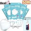 呼吸が楽[ヒールコHealco KF94防疫マスク]50枚(1枚入x50包)韓国製 防疫 使い捨て