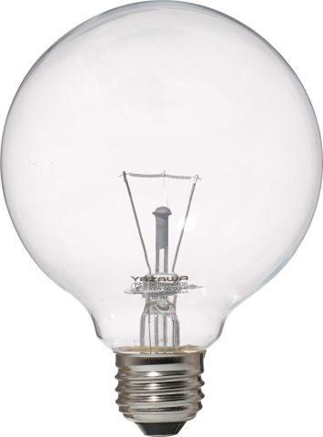 ヤザワ ボール電球100W形クリア GC100V90W95