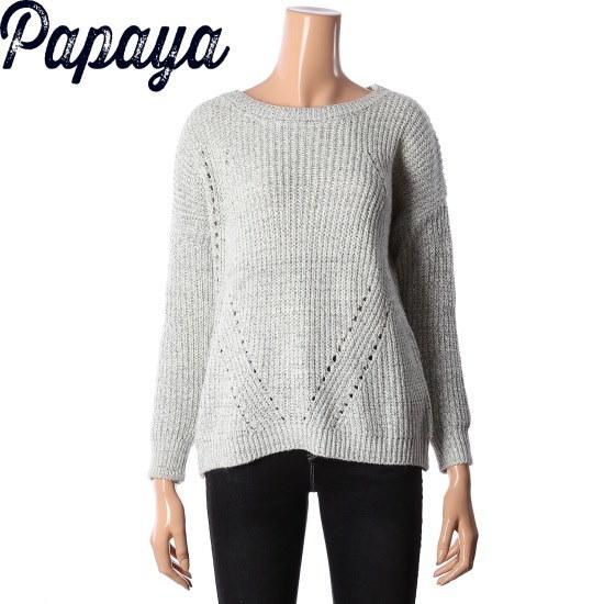 パパイヤパパイヤニットシャツCNGRSW016D ニット/セーター/韓国ファッション