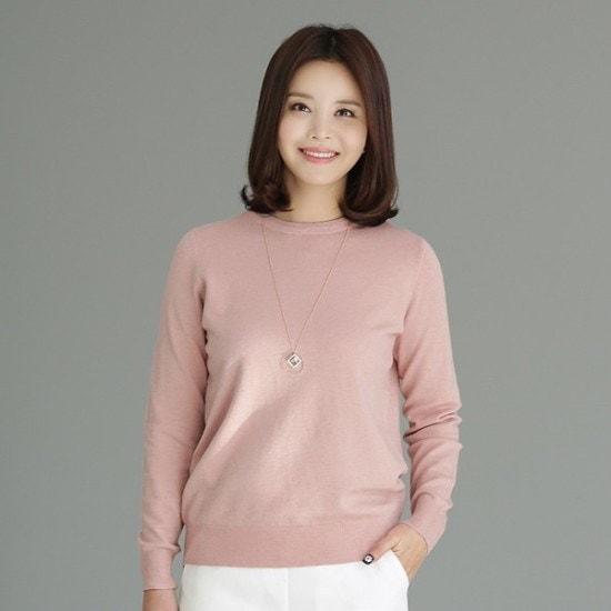 デッドと8AKN901ソフトのカラーリングラウンドニットsrcLangTypeko ニット/セーター/ニット/韓国ファッション