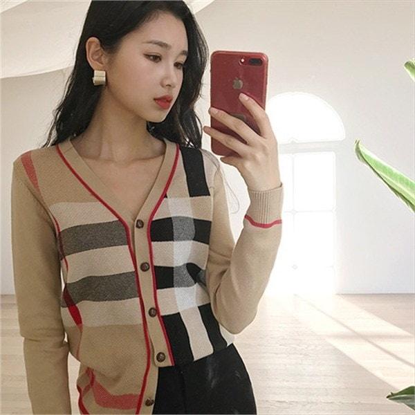 クラシックスリムカディゴンnew 女性ニット/カーディガン/韓国ファッション