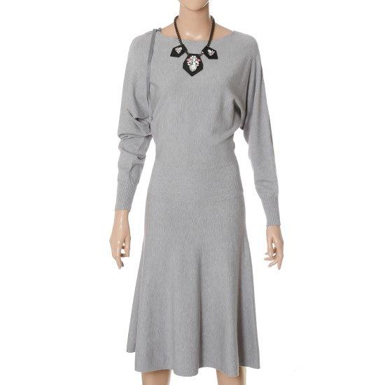 リアンニューヨークダイヤのワンピースRKCKOP010 ロングニット/ルーズフィット/セーター/韓国ファッション