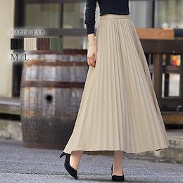 [当日出荷]旬を着る。エコレザープリーツスカート。2020秋冬新作 国内発送 ve4561