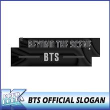 【数量限定】 BTS OFFICIAL SLOGAN / 防弾少年団 / 公式スローガン / スローガン / ビックヒット / 公式グッズ
