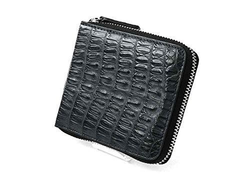 【ゴダン】 GODANEクロコダイル革ラウンド折財布 SPCW8002cp /財布/ウォレット/短財布