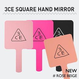 3CE [韓国コスメ 3CE] スクエアハンドミラー 3CE Square Hand Mirror 3CE 스퀘어 핸드 미러
