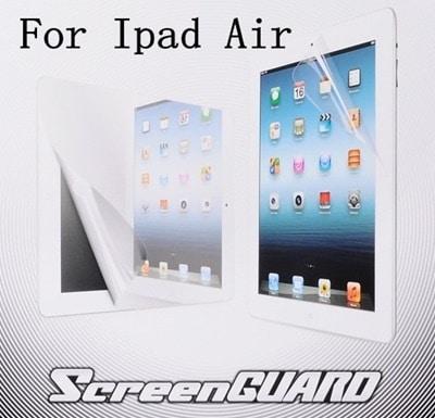 iPad Air/iPad Air 2/iPad 5世代/iPad 6世代用液晶保護フィルム/保護シート/保護シール クリアタイプ 画面を傷やホコリから保護します【管理番号:A128】
