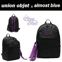 【EXO(エクソ)のチャンヨル着用】【ALMOSTBLUE X UNIONOBJET】 ULTRA VIOLET BACKPACK リュック ! snsで人氣💖大人気のレビュー必見💖