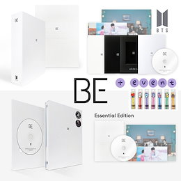 [BTS公式グッズ] Be (Essential Edition) or [Deluxe Edition] + BT21 PEN ペン 贈呈 !!! CD アルバム 韓国音楽チャート反映  防弾少年団