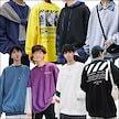 新作  メンズファッション パーカー 長袖T-シャツ 韓国ファション Tシャツ アウタートップス パーカー 長袖  パーカー メンズ