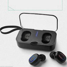 【送料無料】Bluetooth5.0ワイヤレスイヤホン 高音質 充電ケース コンパクト 軽量 最新 タッチ操作 大容量電池 着け心地抜群 通話 ゲーム 音楽 運動