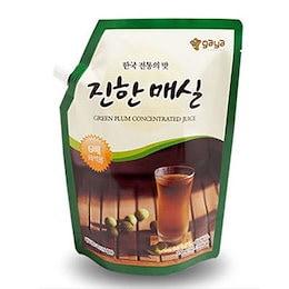 『ガヤFD』 梅エキス(1kg・6倍濃縮タイプ) 原液 伝統茶 伝統飲料 韓国飲み物 韓国飲料 韓国ドリンク 韓国食材 韓国食品