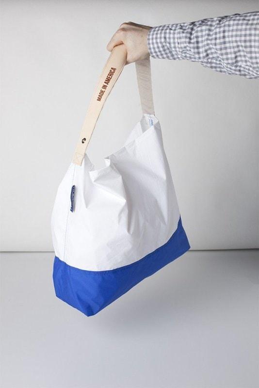 【即納】JULY NINE ジュライナインTWO TONE 18 REGULARツートーン 18L レギュラーサイズWHITE/BLUE(ホワイト/ブルー)男女兼用 折りたたみ ナイロン ショルダー 折りたたみ