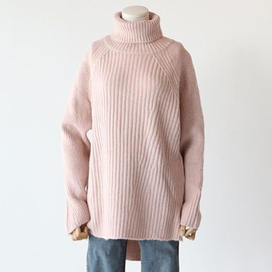 ピグメントモンヌゴルジタートルA16121301 / ニット/セーター/タートルネック/ポーラーニット/韓国ファッション