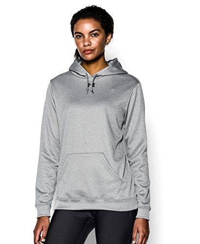 Under Armour Womens Armour® Fleece Team Hoodie Extra Large True Gray Heather