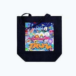 [オーダーメイド ] TREASURE TRUZ x Line Friends CREATOR Official Standard Canvas Tote Bag (M)