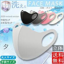 【国内発送/送無】 マスク 洗えるマスク