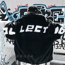 毛皮コート 上着 ジャケット ファーコートメンズ ショートコート アウター 暖かい 冬 防寒