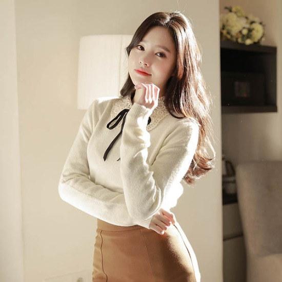 フィオナ雨とレポップknitm5747ニート ニット/セーター/ニット/韓国ファッション
