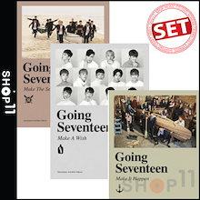 【入荷済み】【和訳】【SET】SEVENTEEN GOING SEVENTEEN 3RD MINI ALBUM 17 セブンティーン 3集 ミニアルバム【VER選択】【先着ポスター】【レビューで生写真