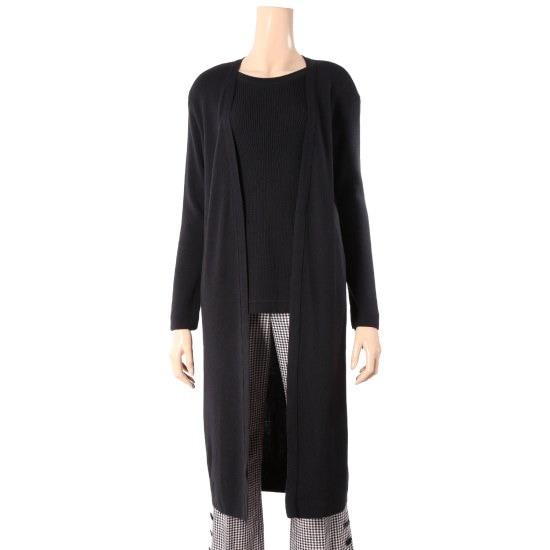 シシコレクトロングカディゴン感じのラウンドニートC174KSK046 ニット/セーター/韓国ファッション