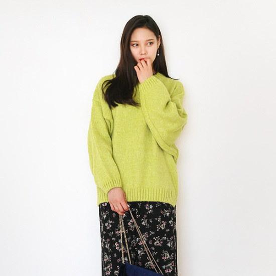 [ジェイスタイルビッグサイズ/レス血エイニット 大きいサイズ/ニット/セーター/韓国ファッション