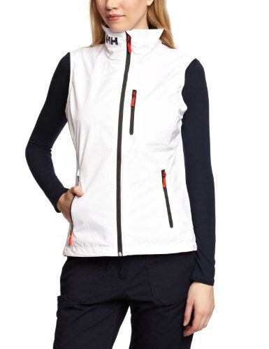 Helly Hansen Womens Crew Vest, White, X-Large