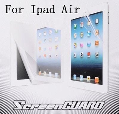 高品質iPad Air/iPad Air 2/iPad5世代/iPad6世代用液晶保護フィルム/保護シート/保護シール 非光沢 画面を傷やホコリから保護します【管理番号:A129】