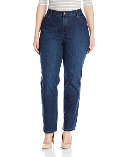 Lee Womens Plus-Size Comfort Fit Kay Barely Bootcut Jean, Odyssey, 20W Medium