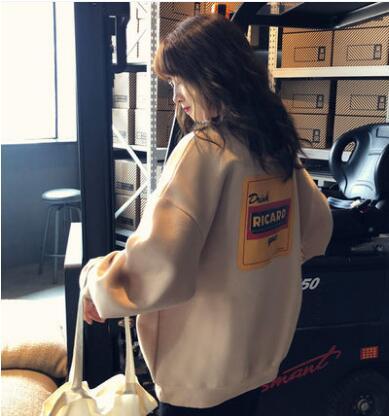 人気韓国ファション秋冬適用てパーカー ロングパーカー パーカーワンピース ブラウス 長袖tシャツ ゆったり感体型カバーtz665