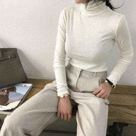 Bellain Pola Knit Korean fashion style