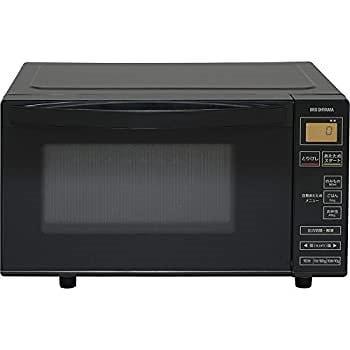 アイリスオーヤマ 電子レンジ 18L フラットテーブル ヘルツフリー 全国対応 ブラック IMB-FV1801