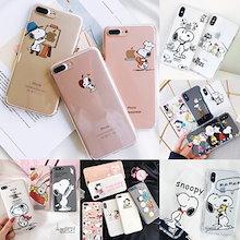 Snoopy 透明なスヌーピー柔らかいTPUケース iPhoneXrケース iPhoneXs Max ケースiPhoneXケース iPhone7ケース iphone8ケース IPHONEケース