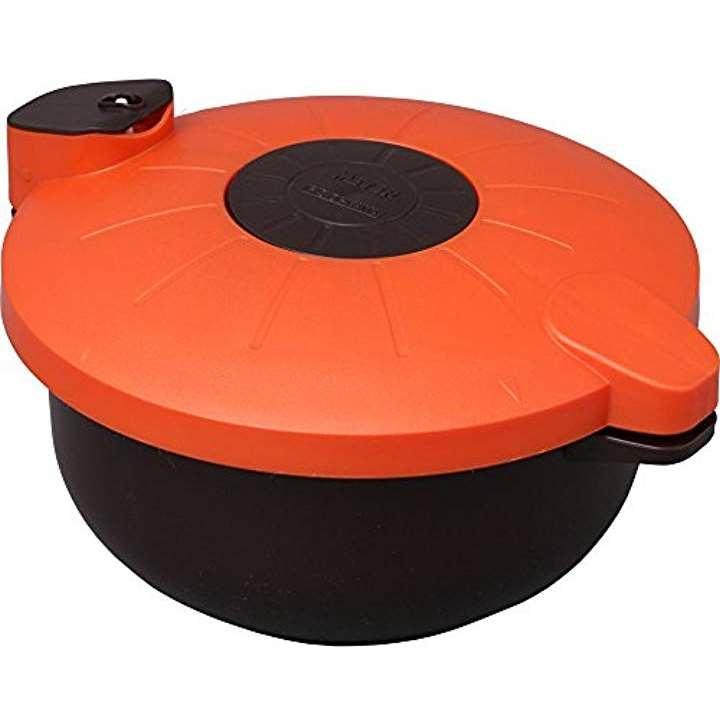 圧力鍋 電子レンジ 2.3L マイヤー[MRA-2300](ブラウン)