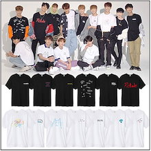 韓国SEVENTEEN 2018 JAPAN ARENA SVT コンサート週辺 トップス 韓国ファッション Seventeen周辺 応援グッズTシャツ 3周年の特別なタイプ WE MAKE YOU