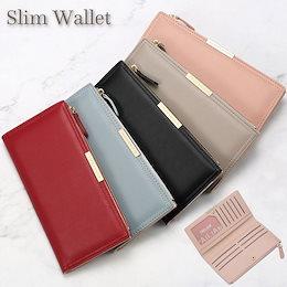 長財布 カードケース レディース 薄型 おしゃれ 薄い スリム 使いやすい 小銭 メガ割