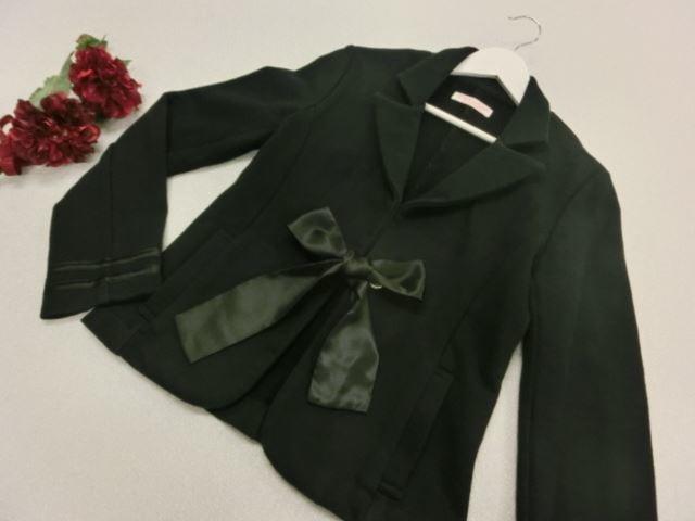 TRALALA de LIZ LISA/トゥララ デ リズリサ 長袖ジャケット ネイビー コットン製【中古】