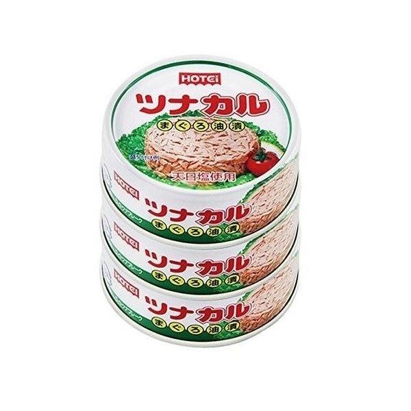 ホテイフーズ ツナカル 70g×3缶