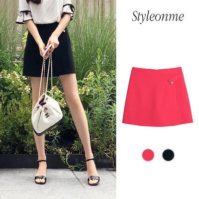 styleonme【Styleonme】♥スタイルオンミ♥韓国ファッション♥韓国通販♥キューティー パールポイントキュロット