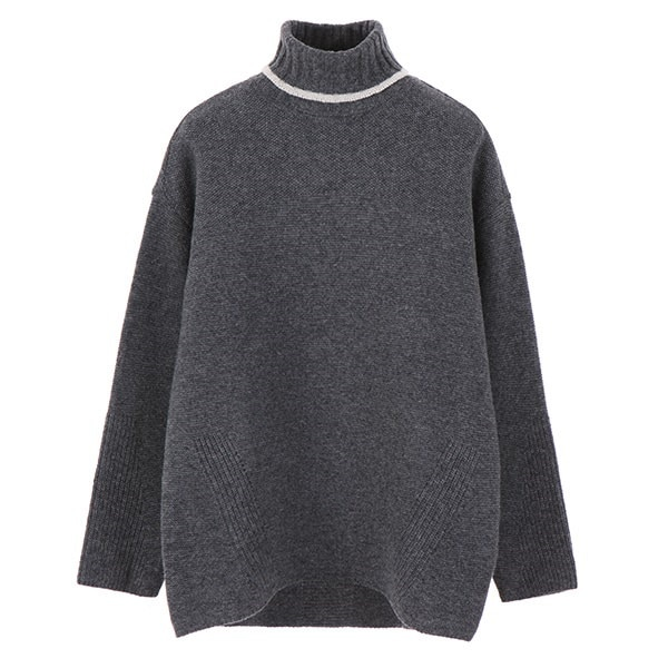 [韓国直送] 【オリーブデオリーブ] line turtleneck knit OK7WP830