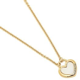 ef7c61750e14 コーチ ネックレス アクセサリー アウトレット COACH F67111 GDWHT PEARL HEART NECKLACE レディース ペンダント  WHITE/GOLD