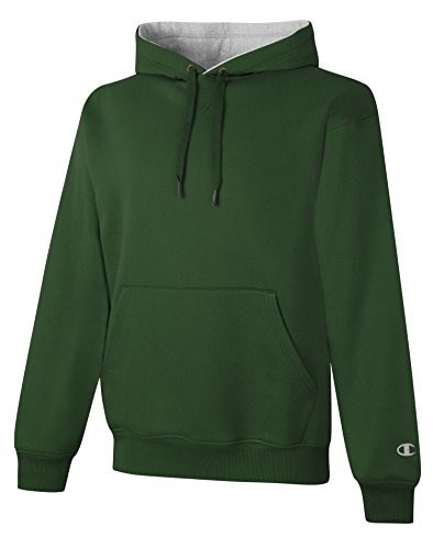 Champion S1781 9.7 oz., 90/10 Cotton Max Pullover Hood - SP FOR/ATH HTR - 2XL